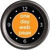 one day web page logo
